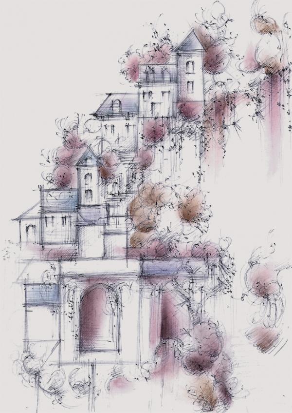 Le village de Truyes,